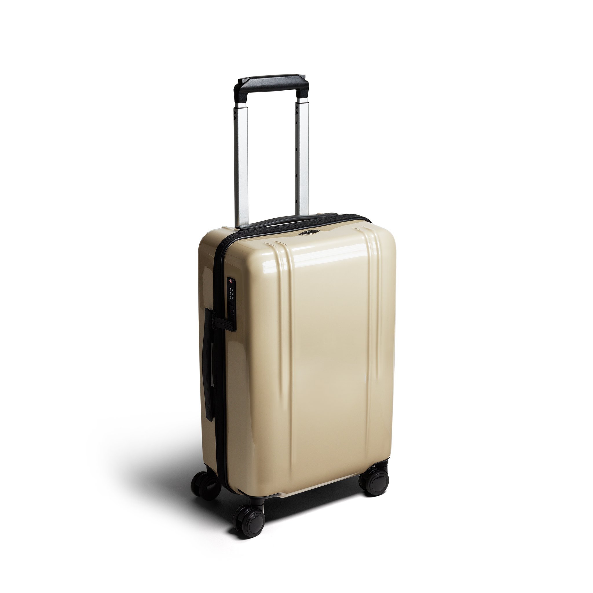 "ZRL - 20"" International Lightweight Carry-On Luggage by Zero Halliburton (Color: Polished Gold)"