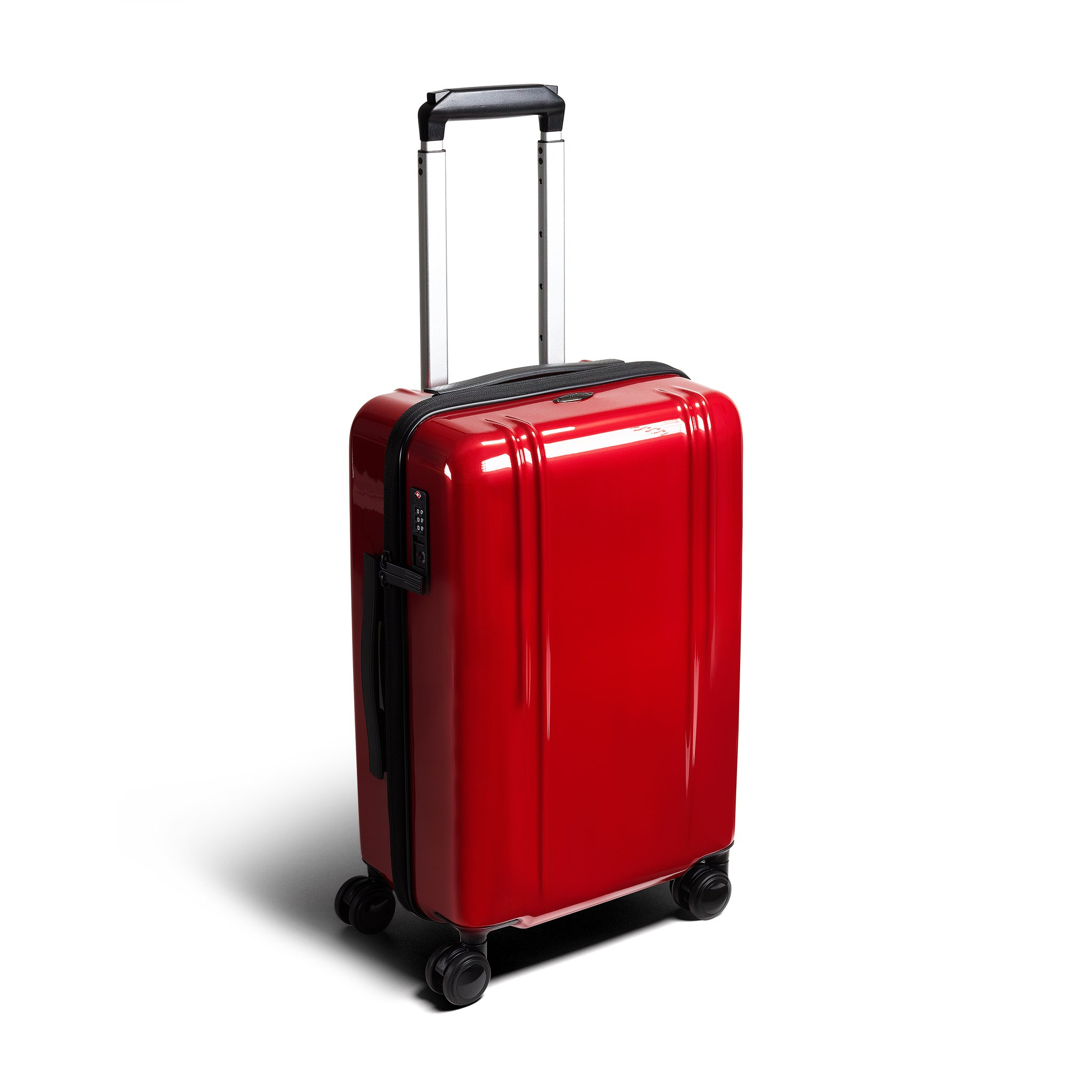 "ZRL - 20"" International Lightweight Carry-On Luggage by Zero Halliburton (Color: Red)"