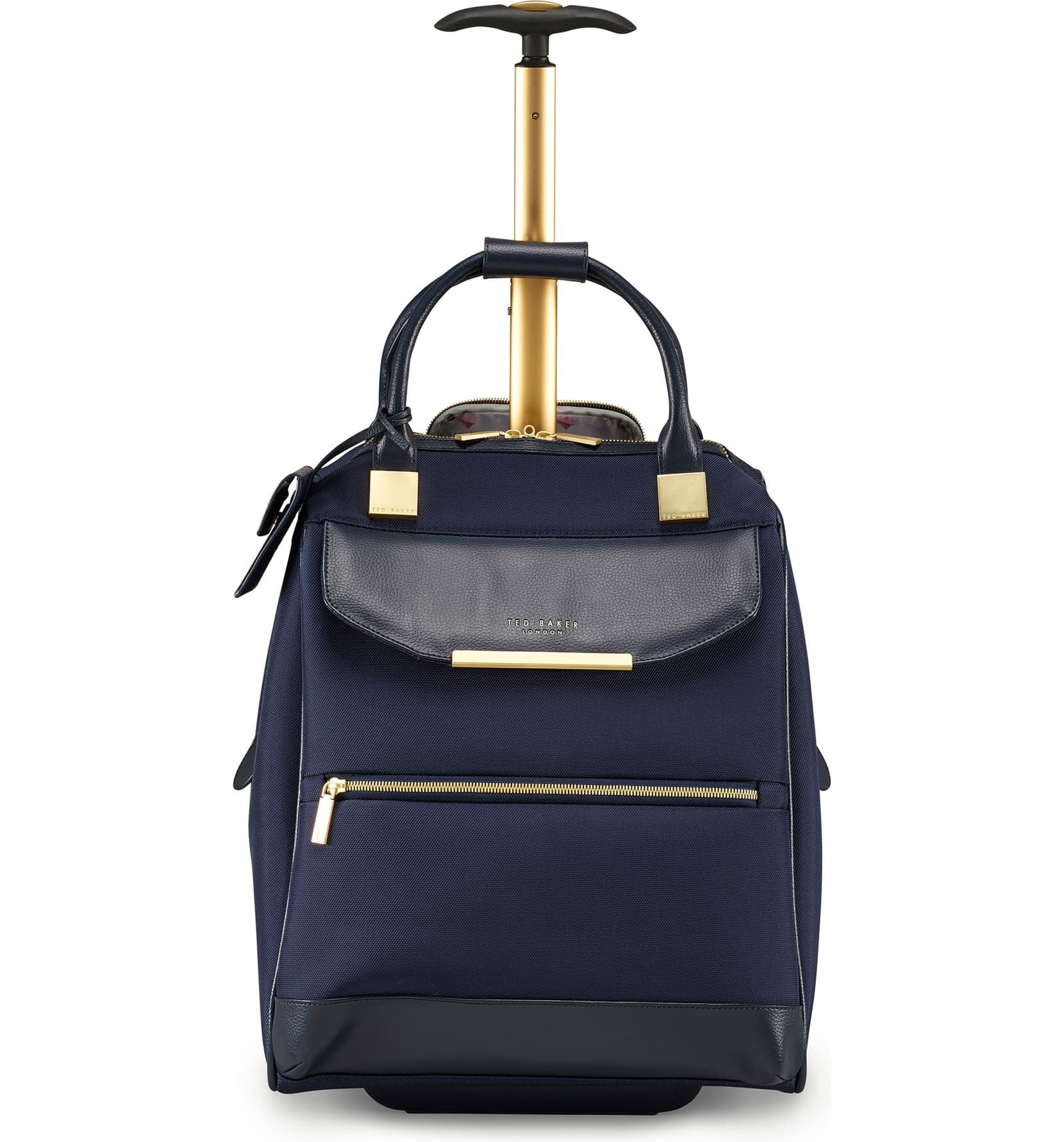 TB Womens Albany Softside Wheeled Business Case by Ted Baker (Color: Navy)
