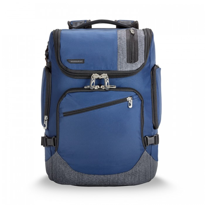 BRX Excursion Backpack by Briggs & Riley (Color: Blue)