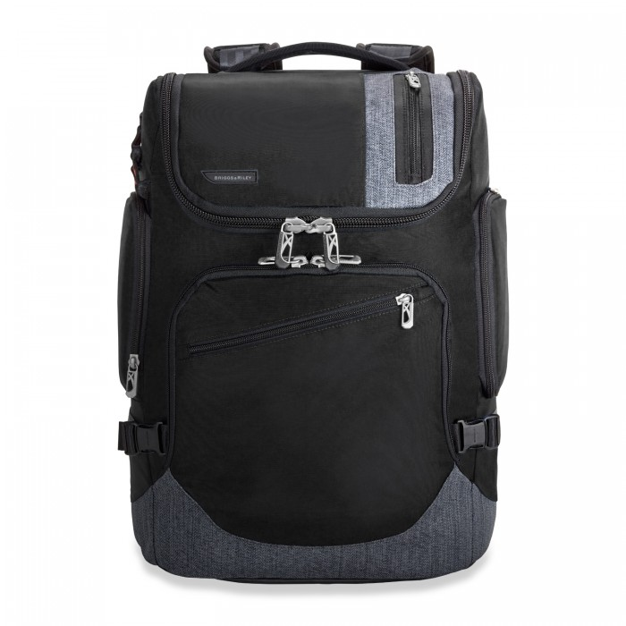 BRX Excursion Backpack by Briggs & Riley (Color: Black)