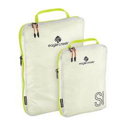 Pack-It Specter Tech™ Compression Cube Set S/M by Eagle Creek (Color: White/Strobe)