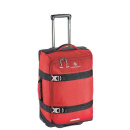 Expanse™ Wheeled Duffel Carry On by Eagle Creek (Color: Volcano Red)