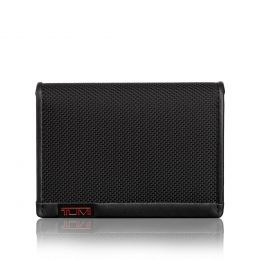 Alpha SLG Gusseted Card Case by TUMI (Color: Black)