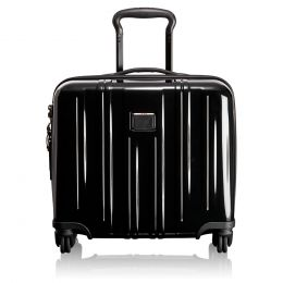 V3 Compact Carry-On 4 Wheel Briefcase by TUMI (Color: Black)