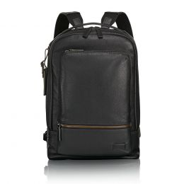 Harrison Bates Backpack Leather by TUMI (Color: Black)