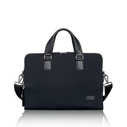 Harrison Seneca Slim Brief by TUMI (Color: Black)