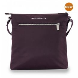 Rhapsody Crossbody by Briggs & Riley (Color: Plum)