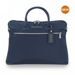 Rhapsody Slim Business by Briggs & Riley (Color: Navy)