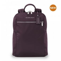 Rhapsody Slim Backpack by Briggs & Riley (Color: Plum)