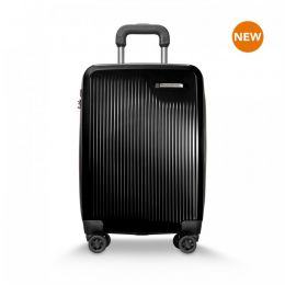 Sympatico International Carry-On Expandable Spinner by Briggs & Riley (Color: Onyx)