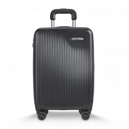Sympatico International Carry-On Expandable Spinner by Briggs & Riley (Color: Black)
