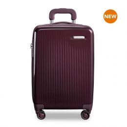 Sympatico International Carry-On Expandable Spinner by Briggs & Riley (Color: Plum)
