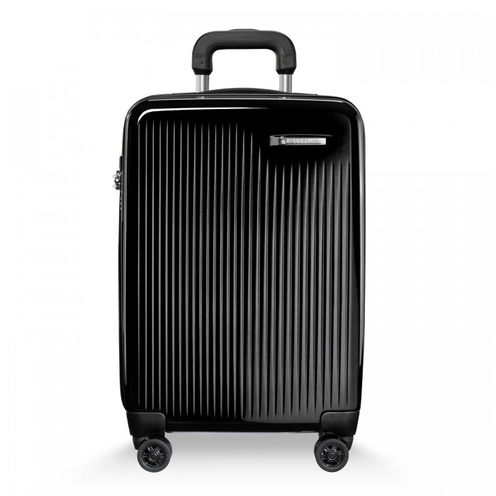 Sympatico Domestic Carry-On Expandable Spinner by Briggs & Riley (Color: Onyx)