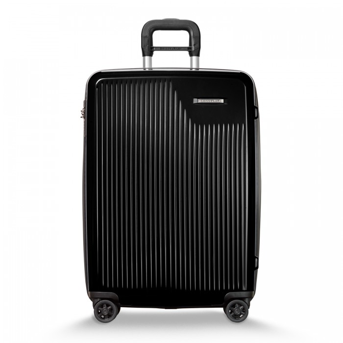 Sympatico Medium Expandable Spinner by Briggs & Riley (Color: Onyx)