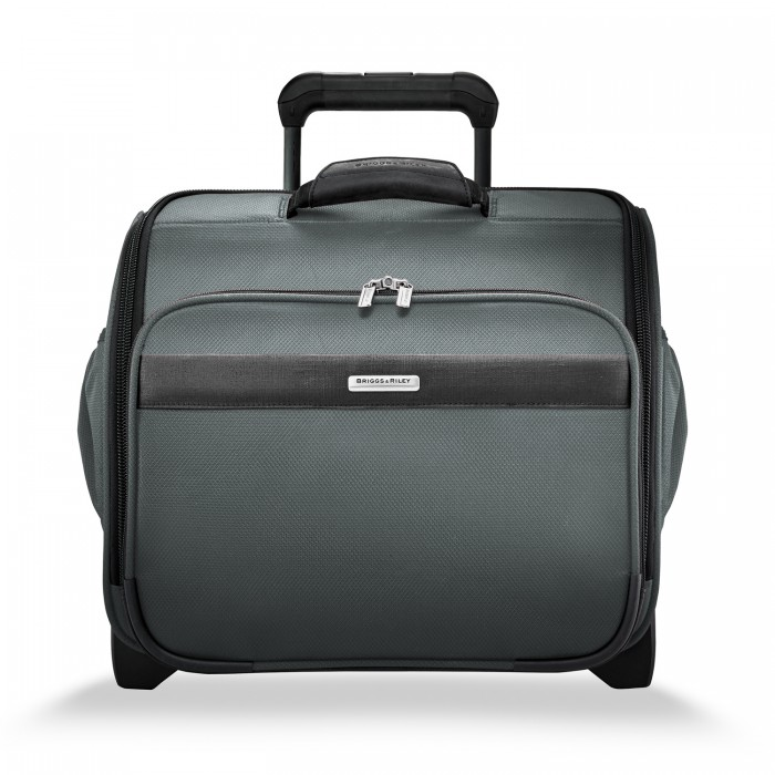 Transcend Rolling Cabin Bag by Briggs & Riley (Color: Slate)