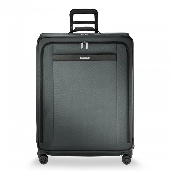 Transcend Large Expandable Spinner by Briggs & Riley (Color: Slate)