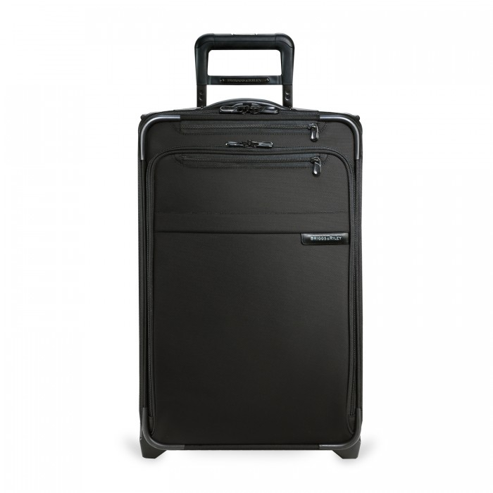 Baseline Domestic Carry-On Expandable Upright (2 wheel) by Briggs & Riley (Color: Black)