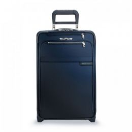 Baseline Domestic Carry-On Expandable Upright (2 wheel) by Briggs & Riley (Color: Navy)