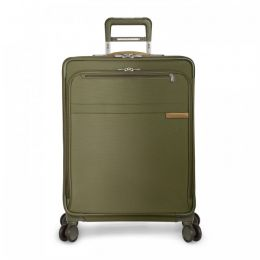 Baseline Medium Expandable Spinner by Briggs & Riley (Color: Olive)