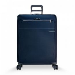 Baseline Large Expandable Spinner by Briggs & Riley (Color: Navy)