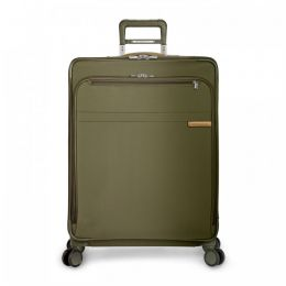 Baseline Large Expandable Spinner by Briggs & Riley (Color: Olive)