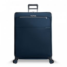 Baseline Extra Large Expandable Spinner by Briggs & Riley (Color: Navy)
