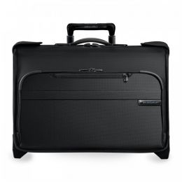 Baseline Carry-On Wheeled Garment Bag (2 wheel) by Briggs & Riley (Color: Black)