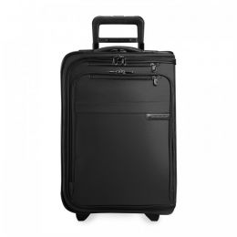 Baseline Domestic Carry-On Upright Garment Bag (2 wheel) by Briggs & Riley (Color: Black)