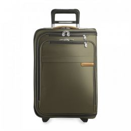 Baseline Domestic Carry-On Upright Garment Bag (2 wheel) by Briggs & Riley (Color: Olive)