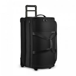 Baseline Medium Upright Duffle (2 wheel) by Briggs & Riley (Color: Black)