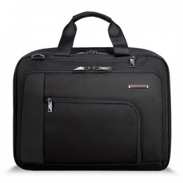"Verb Adapt Expandable Brief for 15.6"" laptops by Briggs & Riley (Color: Black)"