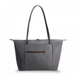 "Kinzie Street Horizontal Tote for 15.6"" laptops by Briggs & Riley (Color: Grey)"
