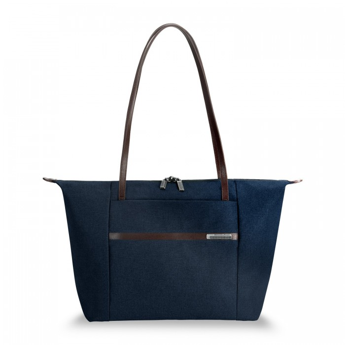 "Kinzie Street Horizontal Tote for 15.6"" laptops by Briggs & Riley (Color: Navy)"