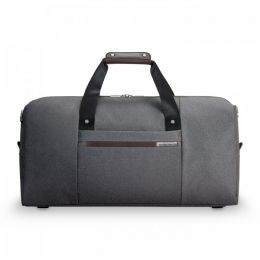 "Kinzie Street Simple Duffle for 21"" w by Briggs & Riley (Color: Grey)"