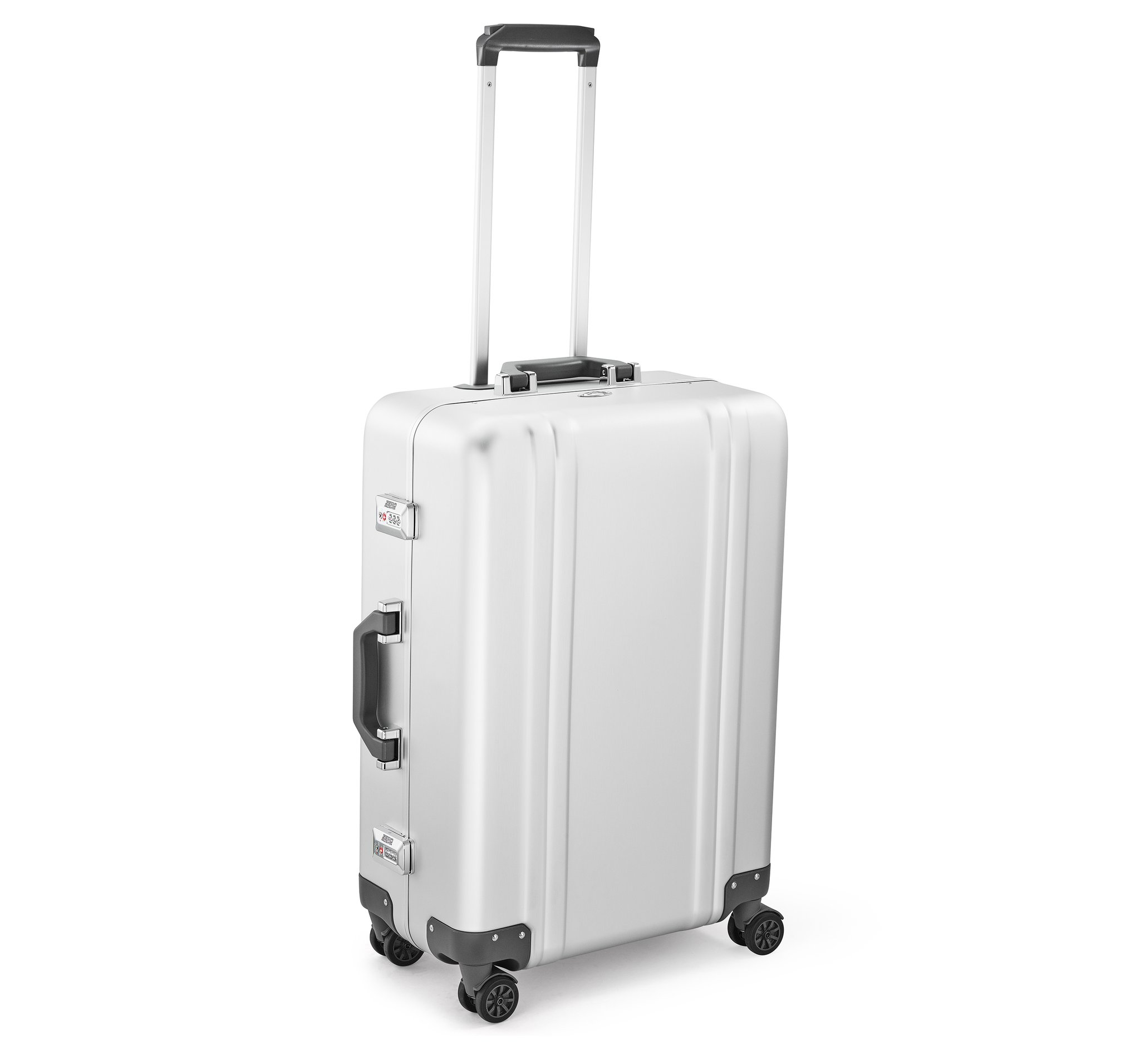 "Classic Aluminum 2.0 - 24"" Spinner Luggage by Zero Halliburton (Color: Silver)"