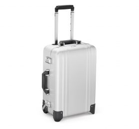 Classic Aluminum 2.0 - Carry-On 2 Wheel Luggage by Zero Halliburton (Color: Silver)