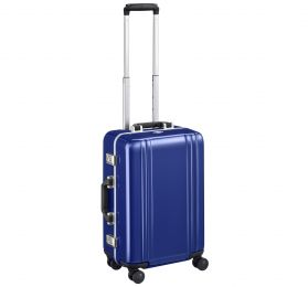 "Classic Polycarbonate 2.0 - 22"" 4-Wheel Travel Case by Zero Halliburton (Color: Blue)"