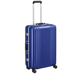 "Classic Polycarbonate 2.0 - 26"" 4-Wheel Travel Case by Zero Halliburton (Color: Blue)"
