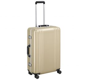 "Classic Polycarbonate 2.0 - 26"" 4-Wheel Travel Case by Zero Halliburton (Color: Polished Gold)"