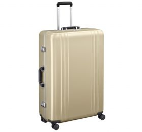 "Classic Polycarbonate 2.0 - 30"" 4-Wheel Travel Case by Zero Halliburton (Color: Polished Gold)"