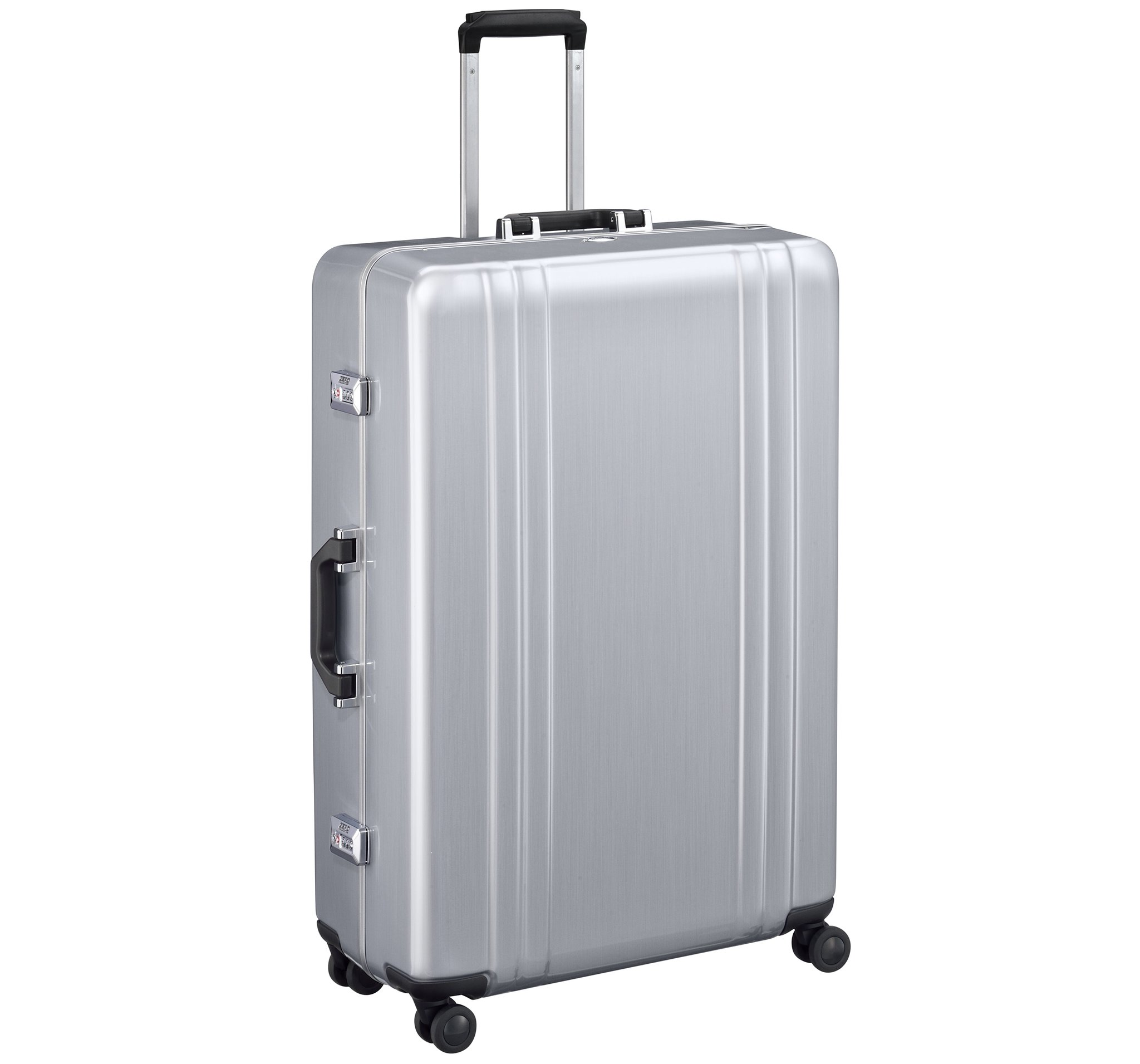 "Classic Polycarbonate 2.0 - 30"" 4-Wheel Travel Case by Zero Halliburton (Color: Silver)"