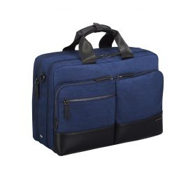 Lightweight Business - Large Laptop Bag by Zero Halliburton (Color: Navy)