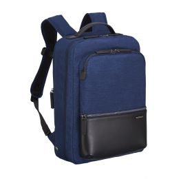 Lightweight Business - Small Backpack by Zero Halliburton (Color: Navy)