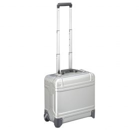 "Geo Aluminum 3.0 - 17"" Wheeled Travel Case by Zero Halliburton (Color: Silver)"