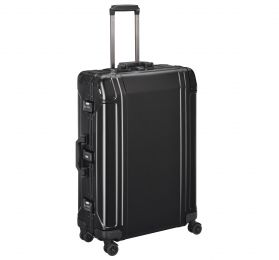 "Geo Aluminum 3.0 - 28"" 4-Wheel Spinner Travel Case by Zero Halliburton (Color: Black)"