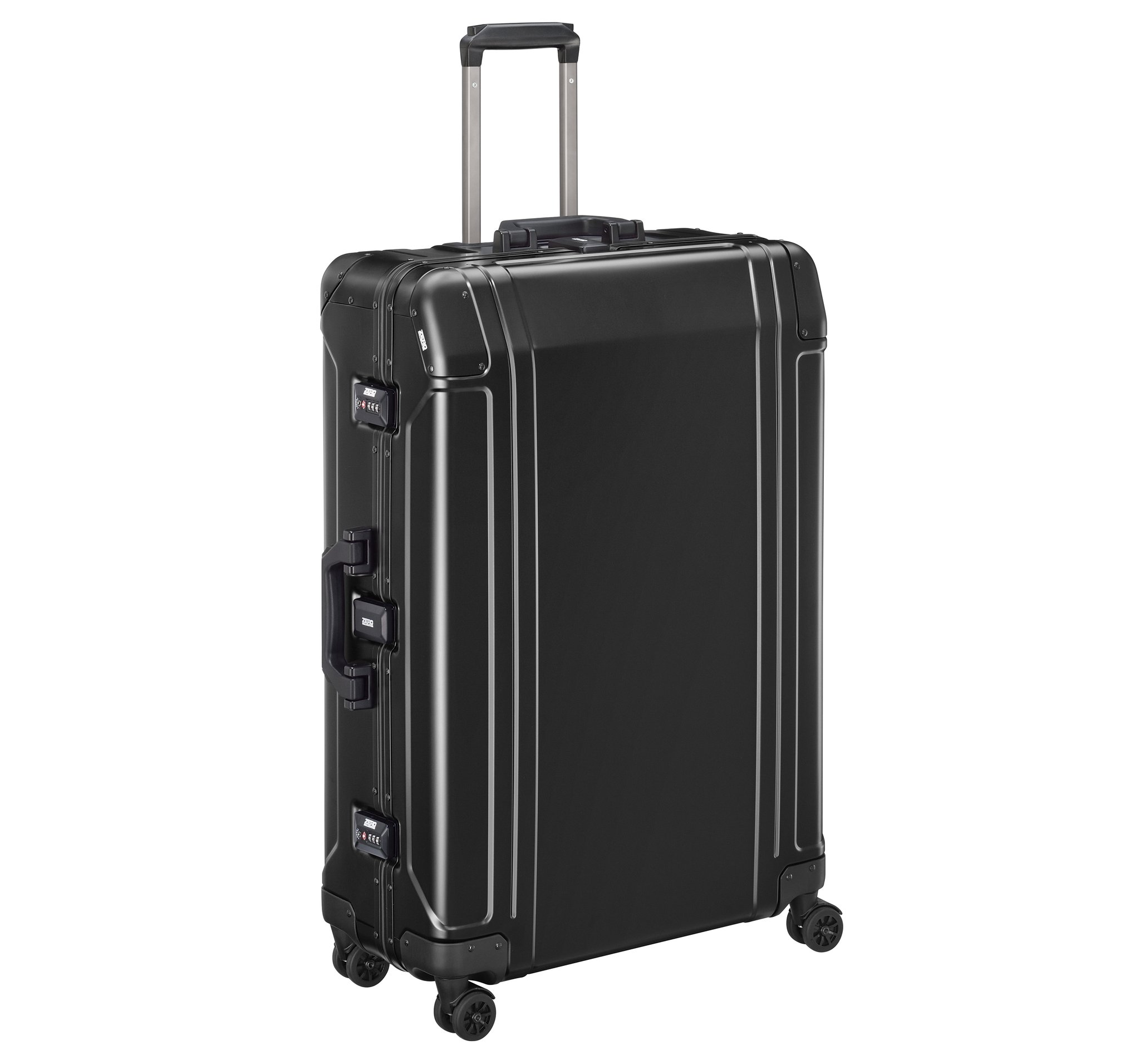 "Geo Aluminum 3.0 - 30"" 4-Wheel Spinner Travel Case by Zero Halliburton (Color: Black)"