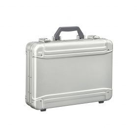 GEO Aluminum 3.0 Attaché - Large Attaché by Zero Halliburton (Color: Silver)