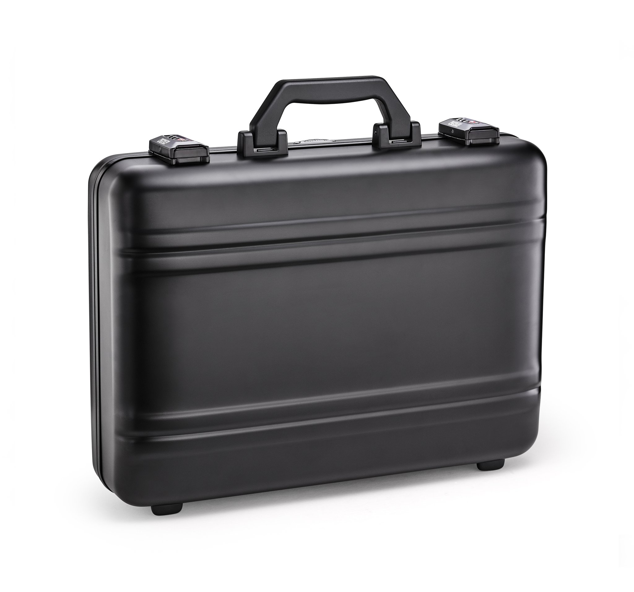 Premier - Black Premier Plus Aluminum Attaché by Zero Halliburton (Color: Black)