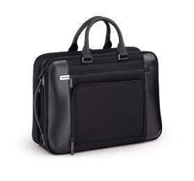 PRF 3.0 - Large Expansion Briefcase by Zero Halliburton (Color: Black)